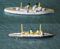 Poltava and Cataluna from WTJ Naval Miniatures