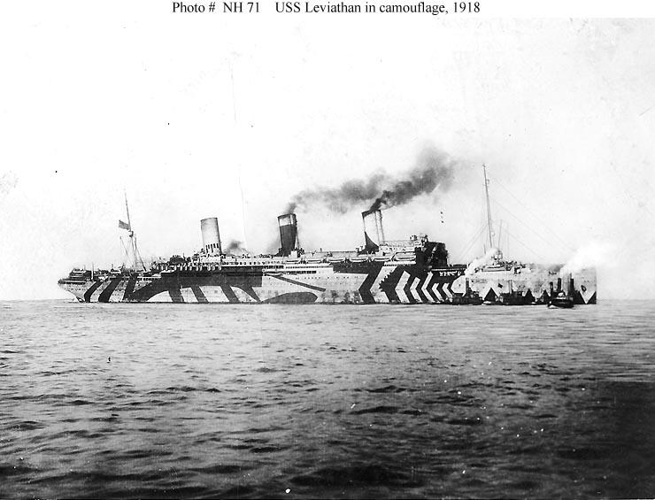 WWI Merchant Navy Camouflage Patterns – Thomo's Hole