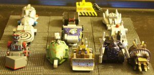 The Robot Wars Hordes of the Things wargame army