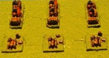 French Mitrailleuse Battery - 2mm Figures from Irregular Miniatures