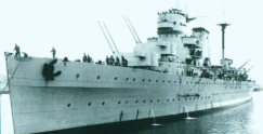The Spanish Cruiser Canarias
