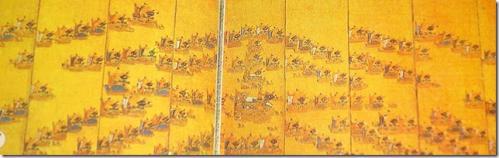 Admiral Yi SunSin's crane formation