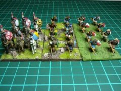 The first Carolingians rebased
