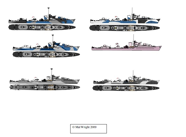 Wwii Navy Paint Colors