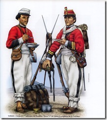 peruvian soldiers