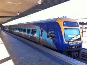 The Countrylink Explorer - transport to Canberra for me from Sydney