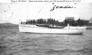 The USS Zenda - perhaps my mother was named after this vessel