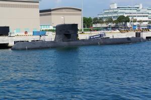 RSS Swordsman - an Archer class submarine (was the Swedish Navy Västergötland class)
