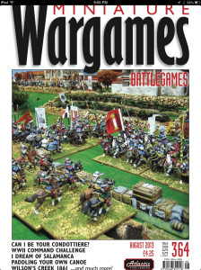 Cover of Miniature Wargames with Battlegames Issue 364