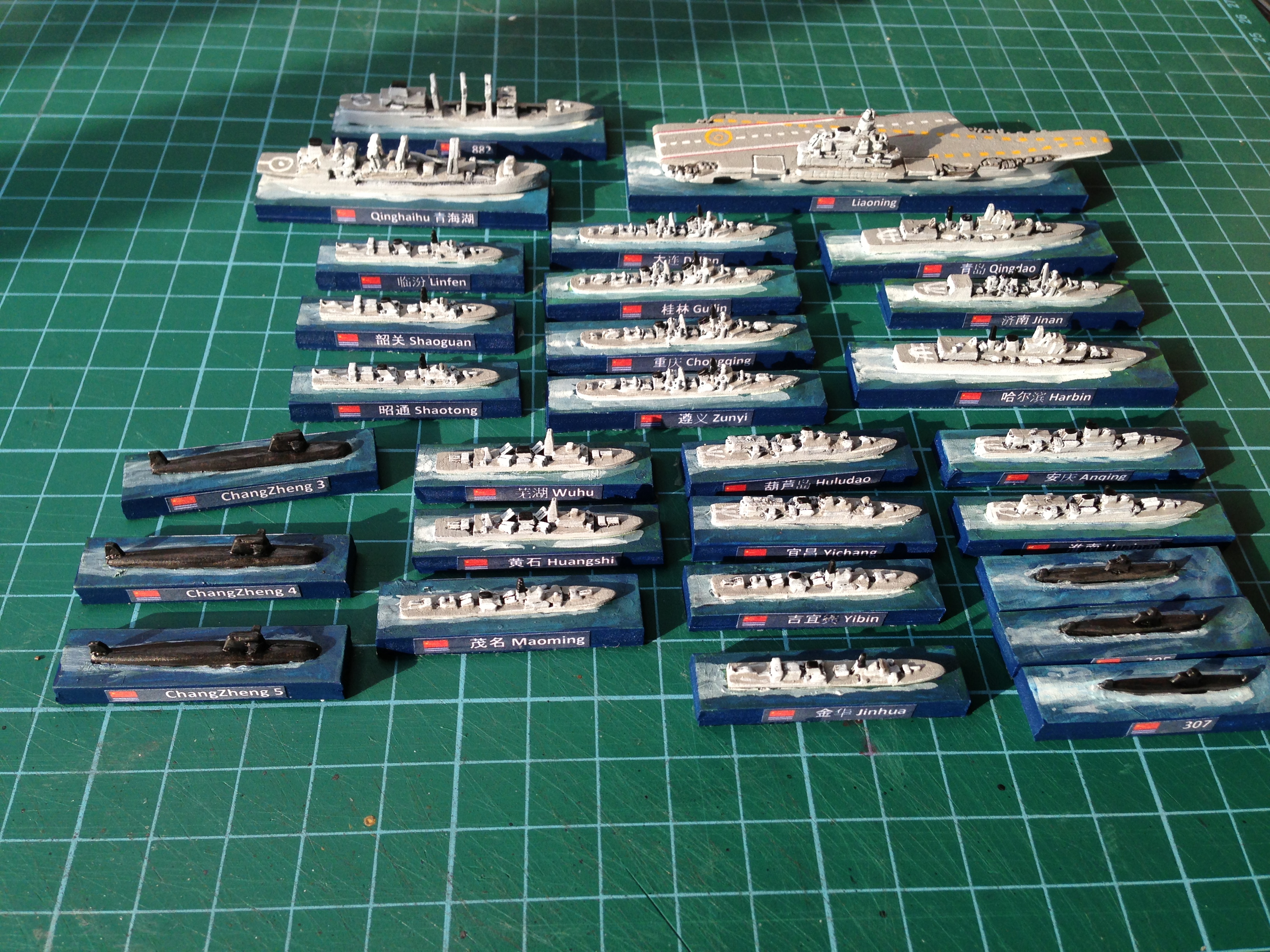 The PLAN fleet complete