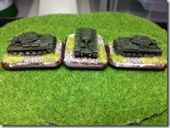 Soviet KV-1 Heavy tanks