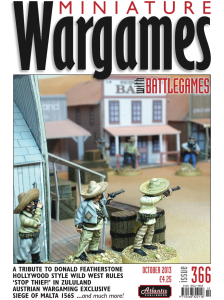 Miniature Wargames with Battlegames - issue 366 cover