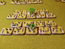 Two infantry battalions for Blitzkrieg Commander II - figures are Adler and GHQ
