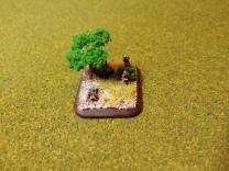 My forward Artillery Observer (AOP)
