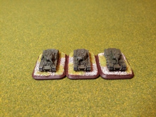 KV-1a tanks - a small platoon