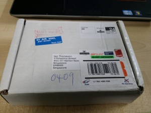 The humble parcel that arrived today and brought such joy!