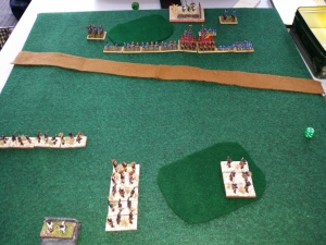 Game 1 -- vs the Ch'in (Book II/4a) -- after the first moves