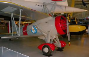 One of USS Macon's Curtiss F9C Sparrowhawk