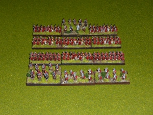 The 6mm Camillan Roman DBA Army - figures by Baccus, painting by numbers!
