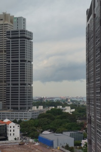 The view from Thomo's Man Cave in Singapore