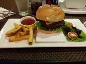 The Cheeseburger from the Strand