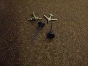 The only fleet damage was to the aircraft