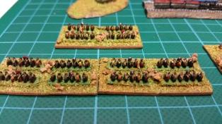 The cavalry brigade