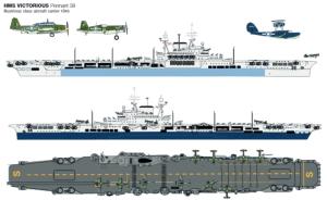 HMS Victorious - 1945