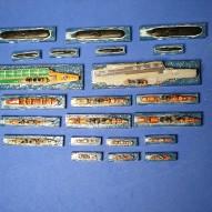 THe Soviet/Russian modern naval fleet, ready to take on NATO