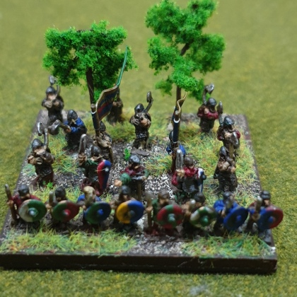 The great fyrd - poorer or older retired warriors