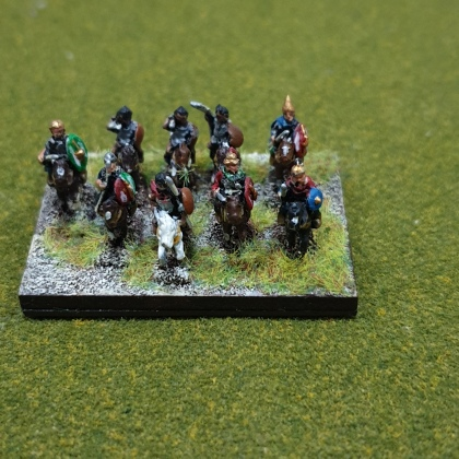 The Command base as Cavalry. There is a Light Horse command as well
