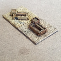 Desert forts from Brigade Models