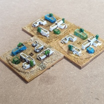 Middle Eastern village - Irregular models