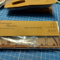 6mm Girder Bridge packaged - sort of like Arnhem